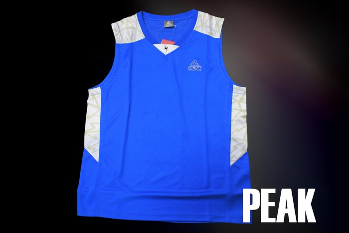 PEAK 閃電系列 F733091 藍 球衣 正品 現貨 台灣經銷代理商-亮禹體育