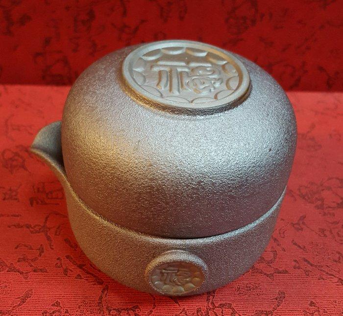 茶具 (蛋形二件組)