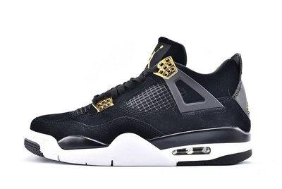 Air Jordan 4 Royalty AJ4 黑金 百搭 短筒 籃球鞋 308497-032 男鞋