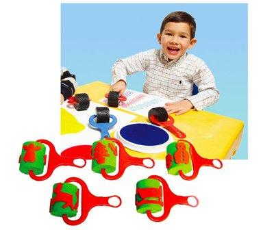 【晴晴百寶盒】英國進口聖誕節連續印 印章 可愛創意認知觀察力訓練玩具 益智 送禮禮物禮品 創意寶寶早教益智遊戲 W002