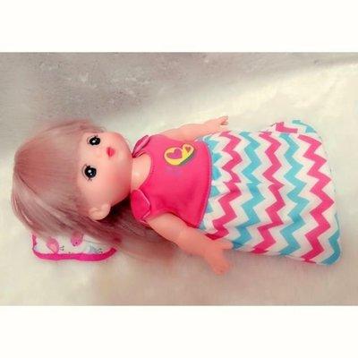 「美樂媽咪」小美樂 洋娃娃睡袋(小美樂.小花)通用