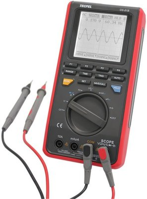 TECPEL 泰菱 》OS-81B OS 81B 掌上型數位示波器 手持式 示波器 8MHz 單通道 掌上型示波器