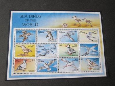 【雲品】岡比亞Gambia 1997 Sc 2011 鳥禽Bird MNH