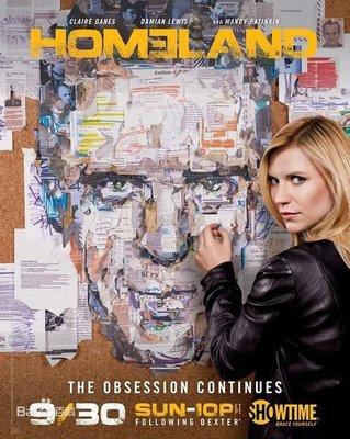 全場買一送一--歐美劇《國土安全 Homeland》第1-4季 DVD