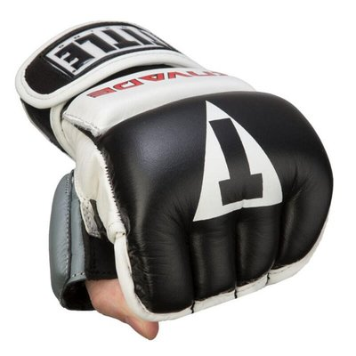 TITLE Invade Wristwrap Heavy Bag半指拳套 MMA UFC 真皮拳套@03155