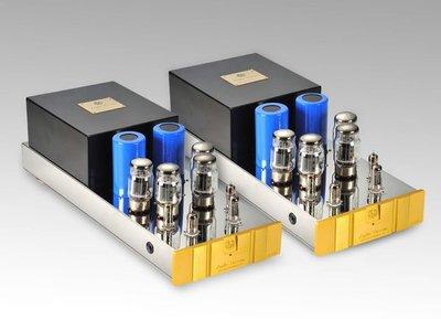 台灣音響精品  AUDIO DREAM KT88 160W+160W  全手工真空管限量旗艦後級擴大機