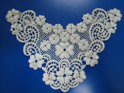 【蕾絲工坊】↙DIY手作材料↗ 刺繡水溶蕾絲貼布貼*M10003*