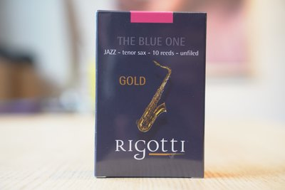 §唐川音樂§ 【法國 Rigotti The Blue One Tenor 次中音竹片-10片裝】原 Gold Jazz