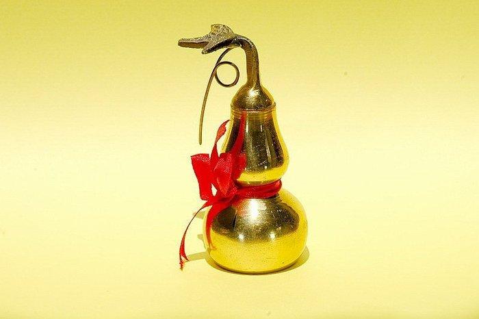 銅葫蘆-已請老師開光並附上安置說明及安置吉課