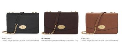 [英國專櫃團購] MULBERRY Darley large grained leather 側背包 多色可選歡迎詢問!