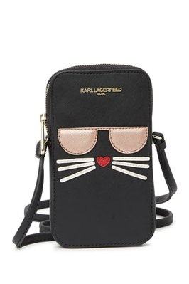 Karl Lagerfeld Paris Maybelle Cell Phone Crossbody
