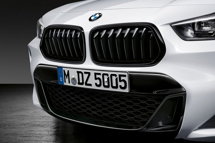 【樂駒】BMW F39 X2 M Performance 原廠 高亮黑 水箱罩 黑鼻頭 改裝 精品 套件 外觀