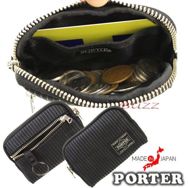 巴斯 日標PORTER屋-現貨 PORTER DRAWING 信用卡夾-鑰匙包-零錢包 650-09782
