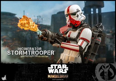 Hottoys TMS012 VIP九折訂單 The Mandalorian Incinerator Stormtrooper 星球大戰紅色盔甲白兵尾數787