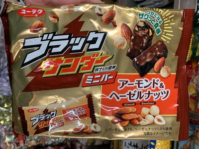 愛買JAPAN❤日本 雷神 堅果巧克力 風味棒 濃郁巧克力 現貨