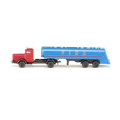 傑仲(有發票) 博蘭 公司貨 WIKING Tanker truck (Bussing8000) 098242 N
