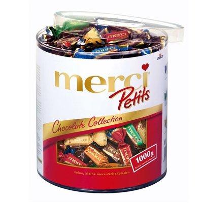 ❄️冬季限定❄️德國merci petits 蜜思混合口味巧克力1000g