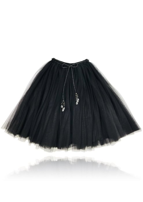 ♡NaNa Baby♡ 荷蘭DOLLY正品【公主雪紡長裙 - 神秘黑】