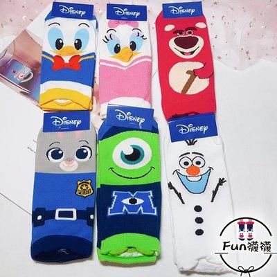 Fun襪襪 🌸🇰🇷 韓國襪🌸 [現貨 迪士尼立體耳朵造型] 正韓短襪 少女襪 基本百搭款 可愛圖案 韓妞必備