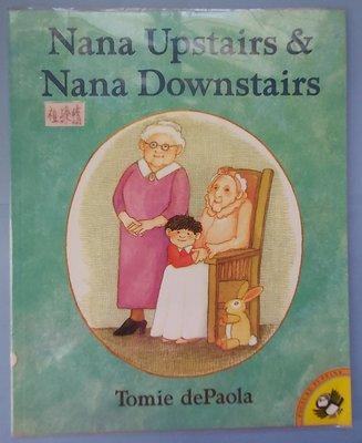 Nana upstairs & Nana downstairs~英文繪本
