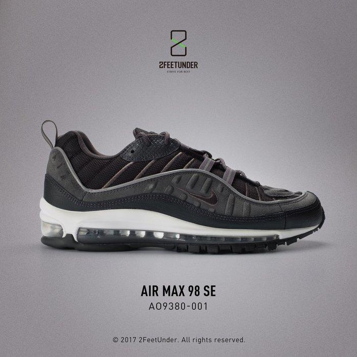 2FeetUnder - Nike Air Max 98 SE 黑灰 麂皮 AO9380-001