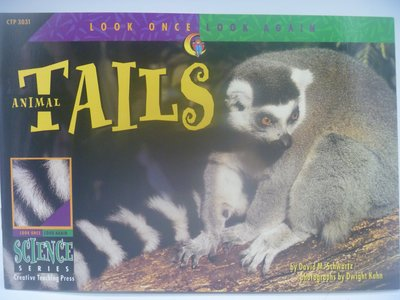 月界】Animal Tails-Look Once,Look Again Science Series〖少年童書〗CER
