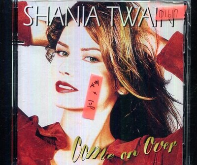 *還有唱片四館* SHANIA TWAIN / COME ON OVER 二手 D1617 (封面底破)