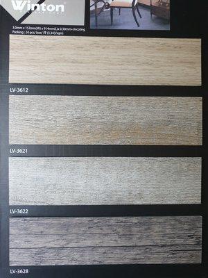 美的磚家~磚家UV塗佈超耐磨LVT塑膠地磚DIY塑膠地板~質感優防焰零甲醛~15cm*90cm*3m/m每坪1100元