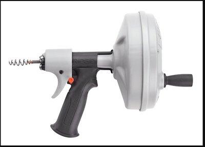 【川大泵浦】美國 RIDGID KWIK-SPIN手動自動送索排水通管器 (適合家庭排水管使用)