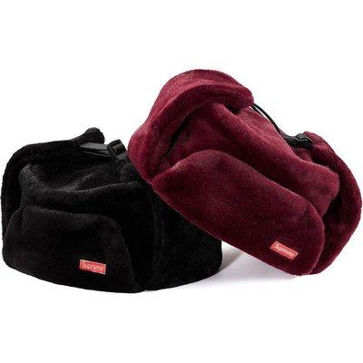 【紐約范特西】預購 Supreme FW19 Faux Fur Ushanka Hat 毛茸茸 極地帽 遮耳帽
