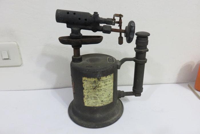 【讓藏】早期收藏,,,早期銅製噴燈,老火雞,OSAKA,免競標,下標就賣