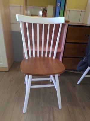 戀戀小木屋 雙色溫莎椅 餐椅 書桌椅 現貨