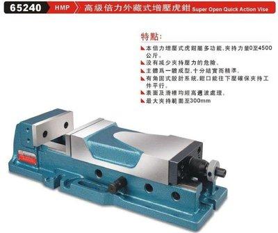 高級倍力外藏式增壓虎鉗 HMP 65240
