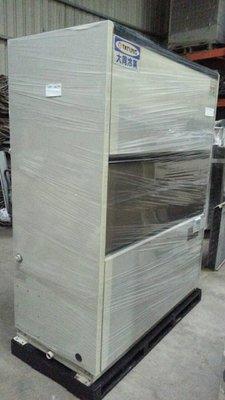 (大台北)中古大同15RT水冷箱型機(編號:TA1060101)*發電機冷氣拆除.窗型分離式冰水機二手回收 *