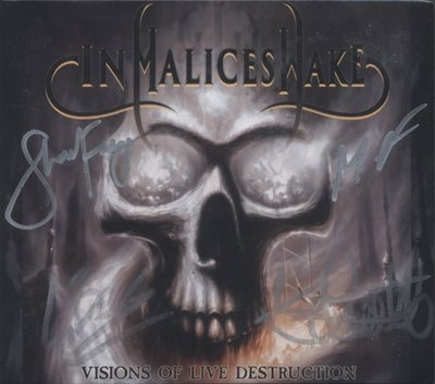 In Malice's Wake - Visions of Live Destruction (CD+DVD)