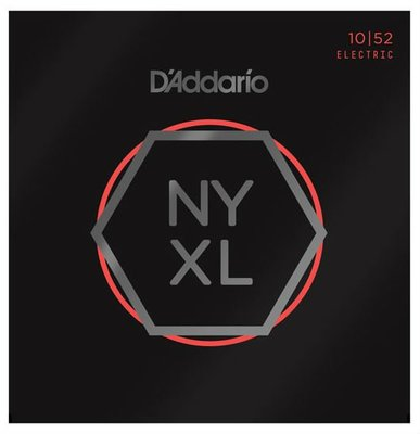 【成功樂器】D'Addario NYXL 1052 (10-52) Nickel Wound 電吉他弦