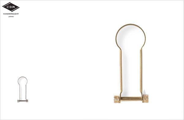WaShiDa【CHW02】CDW Roman Brass / Nickel 鑰匙圈 聖誕 小物