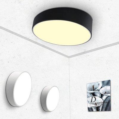 【德興生活館】LED簡約現代客廳臥室書房過道陽臺圓形吸頂燈 限時促銷