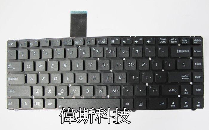 ☆偉斯科技☆華碩A85V R400 K45VD A45VM R400VD全新原廠鍵盤~現貨供應中!