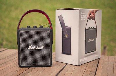古銅黑限量款,現貨可自取※台北快貨※最新二代 Marshall Stockwell II 2 攜帶式藍牙喇叭