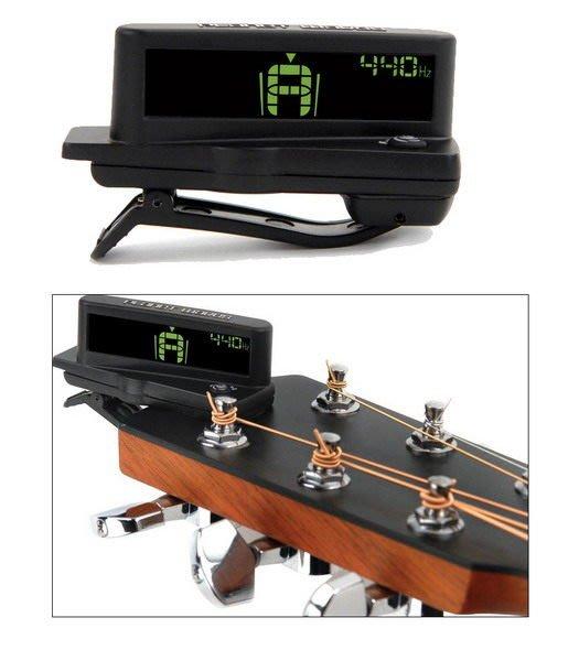 ☆ 唐尼樂器︵☆ Planet Waves 木吉他/電吉他/電貝斯 Bass 琴頭夾式 LCD 顯示背光調音器