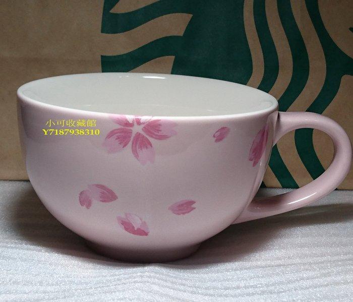 《全新收藏品》星巴克Starbucks 2015 粉紅櫻花馬克杯 櫻花池畔馬克杯 12oz 另有日本櫻花杯玻璃杯