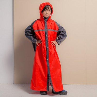 君邁雨衣/藏衫罩背背款,兒童背包前開連身式風雨衣