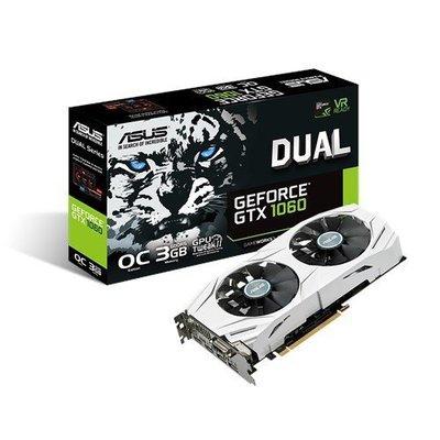【捷修電腦。士林】 缺貨 全新 華碩 DUAL-GTX1060-O3G 顯示卡