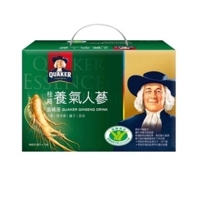 桂格[謝震武代言]養氣人蔘 60ml  19入手提禮盒
