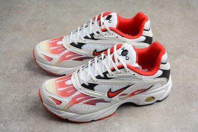 Supreme Nike Streak Spectrum Plus 白紅 火焰 休閒慢跑鞋 男鞋AQ1279-100