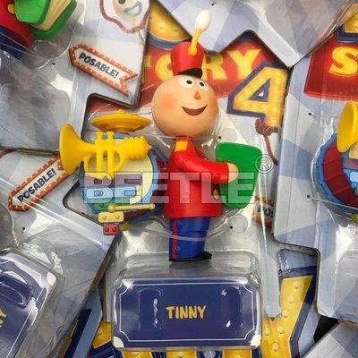 BEETLE 現貨 迪士尼 DISNEY 玩具總動員 4 TOY STORY 公仔 TINNY