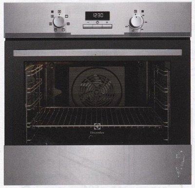 桃園【省錢王-政府認證】【議員強力推薦】伊萊克斯 Electrolux EOB3400AAX 60CM 電烤箱