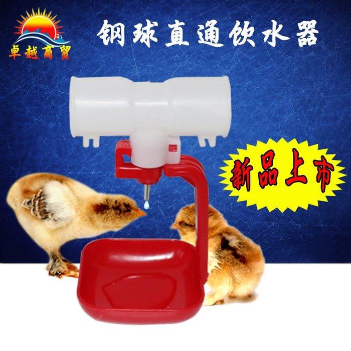 戀物星球 雞用自動鋼球飲水器 直通球閥乳頭式雞飲水器 球閥雞用飲水器/15件起購