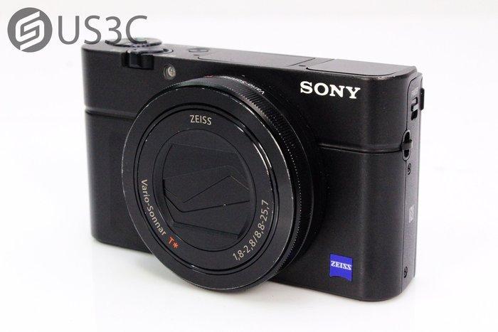 【US3C】公司貨 Sony RX100M3 RX100 III 卡爾蔡司鏡頭 內建WiFi 翻轉螢幕 二手相機
